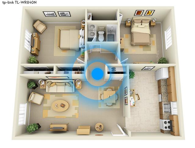 TL-WR840N v bytě